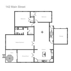 Easy to use house floor plans drawing software for Easy house plan software